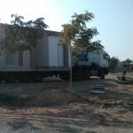 בונים את הבית החדש בקיבוץ לוטן  - החלק השני
