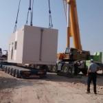 בונים את הבית החדש בקיבוץ לוטן  - החלק בראשון באוויר