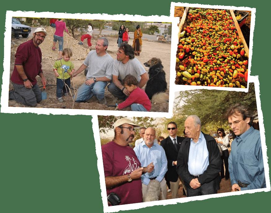 Pionnering kibbutz lotan