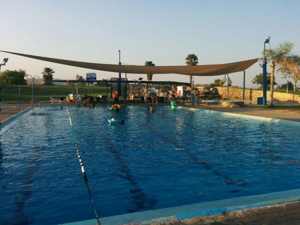 kibbutz lotan pool