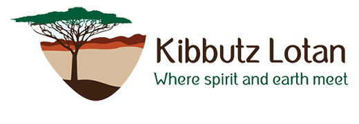 Kibbutz Lotan Logo English