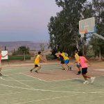 משחקים כדורסל בקיבוץ לוטן