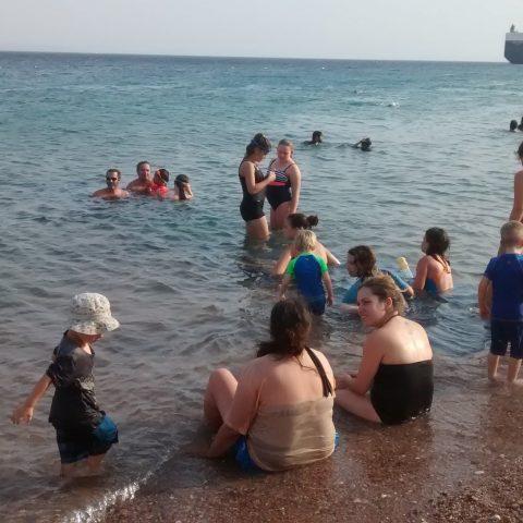 הקיבוץ יורד לים – סוף החופש הגדול