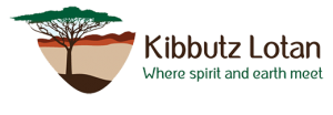 Kibbutz Lotan Logo English