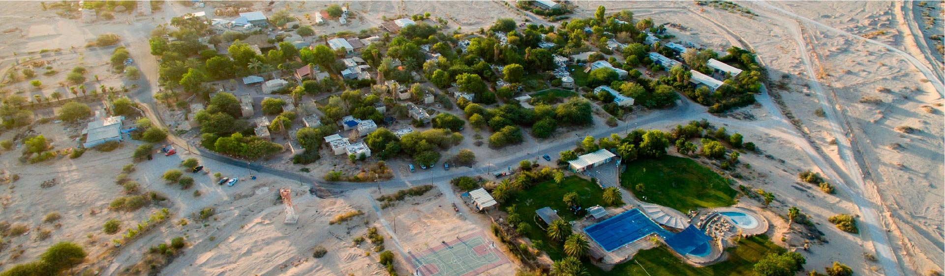 kibbutz lotan from above